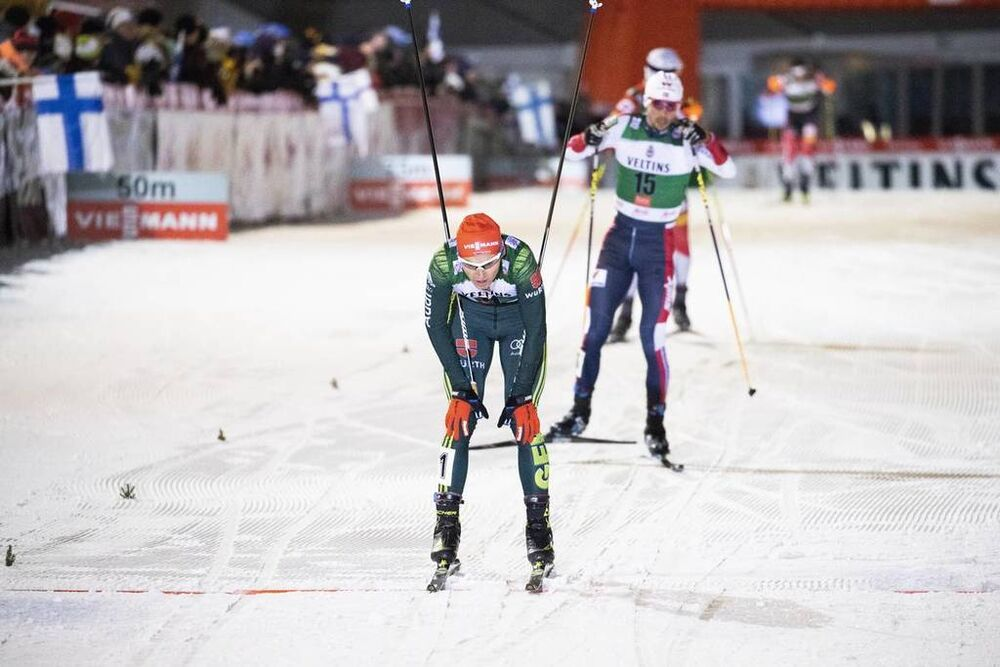 24.11.2018, Ruka, Finland (FIN):Eric Frenzel (GER) - FIS world cup nordic combined, individual gundersen HS142/10km, Ruka (FIN). www.nordicfocus.com. © Modica/NordicFocus. Every downloaded picture is fee-liable.