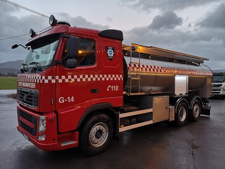 Ny brannbil i Dyrøy kommune