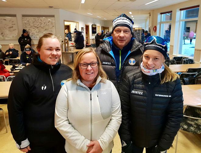 EMILIÉ, Maud, Anders och Wilma Karlsson. Familjen har efter Daniels bortgång, utöver att Wilma är tävlingsaktiv, haft kvar flera engagemang i skidsporten genom tävlingen, stipendiet och dessutom som sponsor till flera av Daniels gamla skidkompisar.
