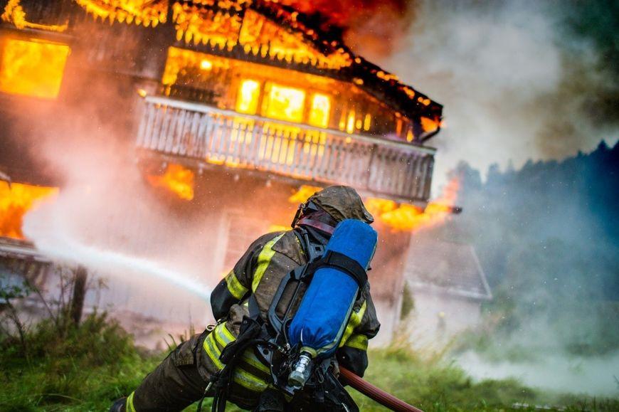 Foto_ Øvelse, Lunner-Gran brann og redning