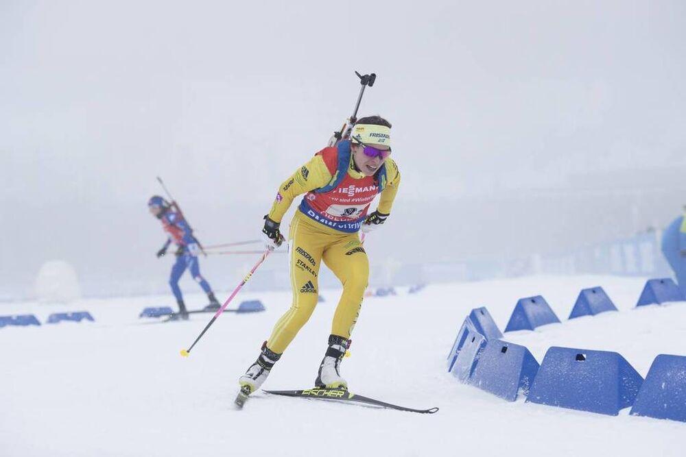 07.01.2018, Oberhof, Germany (GER):Elisabeth Hoegberg (SWE) -  IBU world cup biathlon, relay women, Oberhof (GER). www.nordicfocus.com. © Manzoni/NordicFocus. Every downloaded picture is fee-liable.