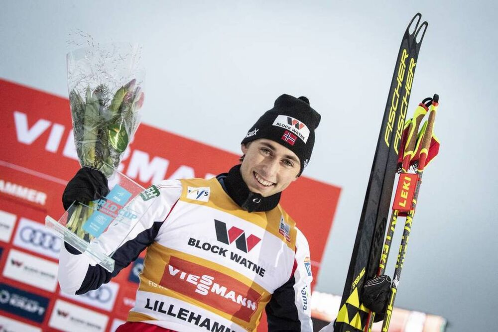 30.11.2018, Lillehammer, Norway (NOR):Jarl Magnus ÊRiiber (NOR) - FIS world cup nordic combined, individual gundersen HS98/5km, Lillehammer (NOR). www.nordicfocus.com. © Modica/NordicFocus. Every downloaded picture is fee-liable.