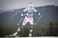 01.12.2018, Lillehammer, Norway (NOR):Ebba Andersson (SWE) - FIS world cup cross-country, pursuit women, Lillehammer (NOR). www.nordicfocus.com. © Modica/NordicFocus. Every downloaded picture is fee-liable.