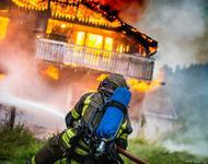 Øvelse Gran - Lunner brann og redning