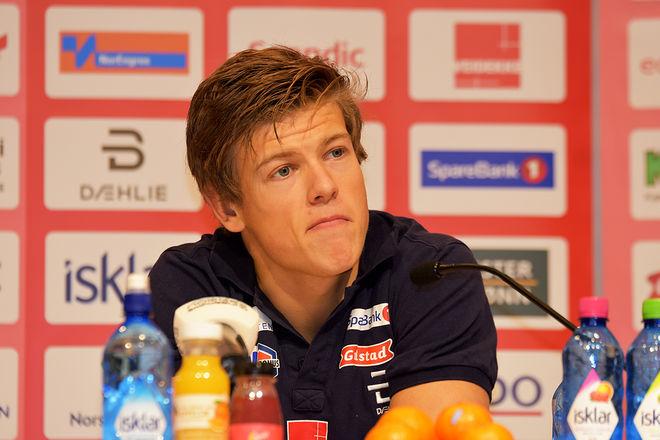 JOHANNES HØSFLOT KLÆBO föll under träningslägret i Frankrike och skadade – hur illa är fortfarande osäkert. Foto/rights: ROLF ZETTERBERG/kekstock.com
