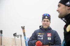 05.12.2018, Pokljuka, Slovenia (SLO):Antonin Guigonnat (FRA) - IBU world cup biathlon, individual men, Pokljuka (SLO). www.nordicfocus.com. © Manzoni/NordicFocus. Every downloaded picture is fee-liable.