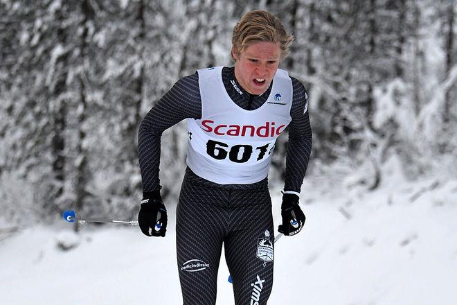 AXEL AFLODAL, Offerdal hade inga problem att vinna H19-20 i Scandic Cup-premiären i Boden. Foto/rights: ROLF ZETTERBERG/KEK-stock