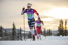 09.12.2018, Beitostolen, Norway (NOR):Astrid Uhrenholdt Jacobsen (NOR) - FIS world cup cross-country, 4x5km women, Beitostolen (NOR). www.nordicfocus.com. © Modica/NordicFocus. Every downloaded picture is fee-liable.
