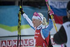 09.12.2018, Pokljuka, Slovenia (SLO):Kaisa Makarainen (FIN) - IBU world cup biathlon, pursuit women, Pokljuka (SLO). www.nordicfocus.com. © Manzoni/NordicFocus. Every downloaded picture is fee-liable.