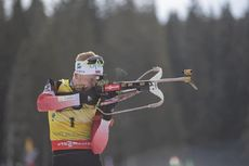 09.12.2018, Pokljuka, Slovenia (SLO):Johannes Thingnes Boe (NOR) - IBU world cup biathlon, pursuit men, Pokljuka (SLO). www.nordicfocus.com. © Manzoni/NordicFocus. Every downloaded picture is fee-liable.