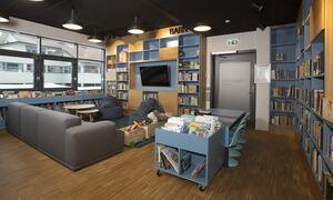 biblioteket barneavdelingen