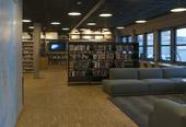 biblioteket inventar