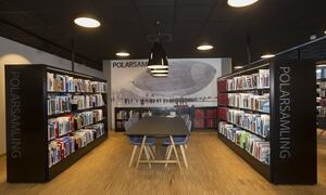 biblioteket polarsamlingen