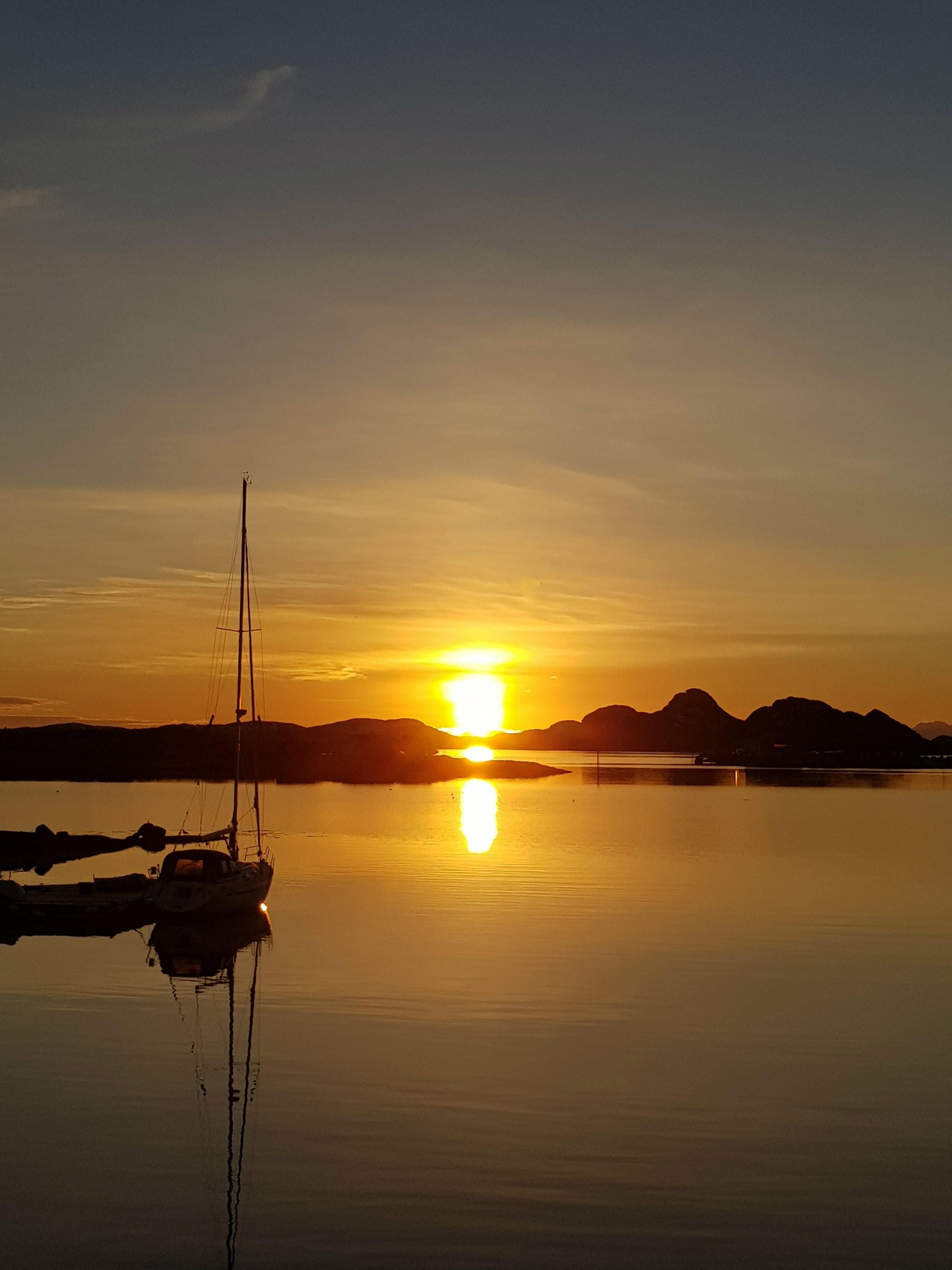 En desemberdag på Seløy