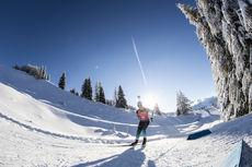 13.12.2018, Hochfilzen, Austria (AUT):Anais Chevalier (FRA) - IBU world cup biathlon, sprint women, Hochfilzen (AUT). www.nordicfocus.com. © Manzoni/NordicFocus. Every downloaded picture is fee-liable.