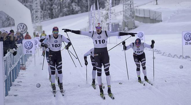 PÅL TRØAN AUNE vinner den helnorska finalen i Skandinaviska cupen i Östersund ganska klart. Foto/rights: TOM-WILLIAM LINDSTRÖM/KEK-stock