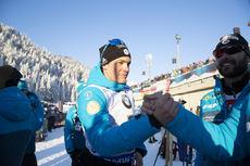 14.12.2018, Hochfilzen, Austria (AUT):Antonin Guigonnat (FRA) - IBU world cup biathlon, sprint men, Hochfilzen (AUT). www.nordicfocus.com. © Manzoni/NordicFocus. Every downloaded picture is fee-liable.