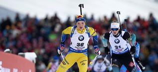 15.12.2018, Hochfilzen, Austria (AUT):Linn Persson (SWE) - IBU world cup biathlon, pursuit women, Hochfilzen (AUT). www.nordicfocus.com. © Manzoni/NordicFocus. Every downloaded picture is fee-liable.