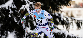 16.12.2018, Davos, Switzerland (SUI):Jens Burman (SWE) - FIS world cup cross-country, 15km men, Davos (SUI). www.nordicfocus.com. © Modica/NordicFocus. Every downloaded picture is fee-liable.