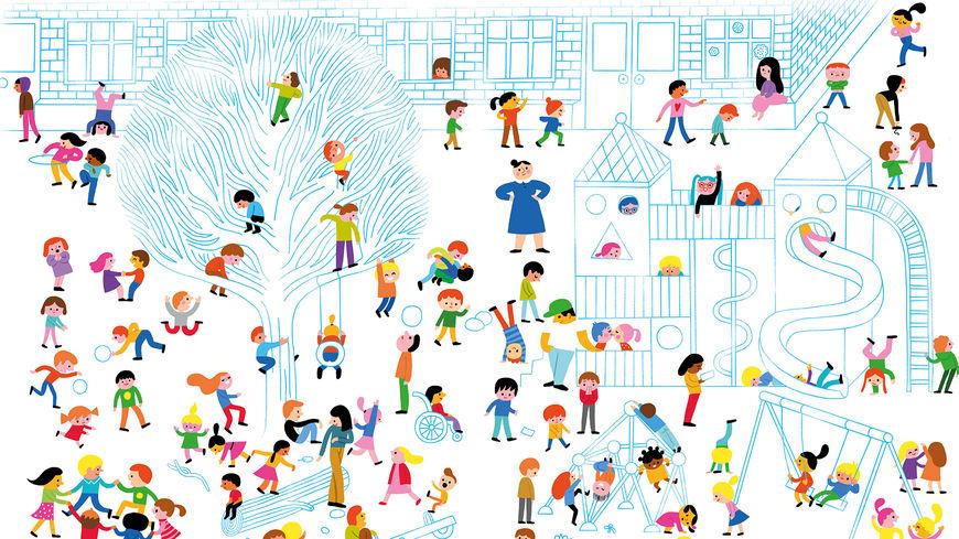 Barn i Kolben - Alle sammen teller - NETT