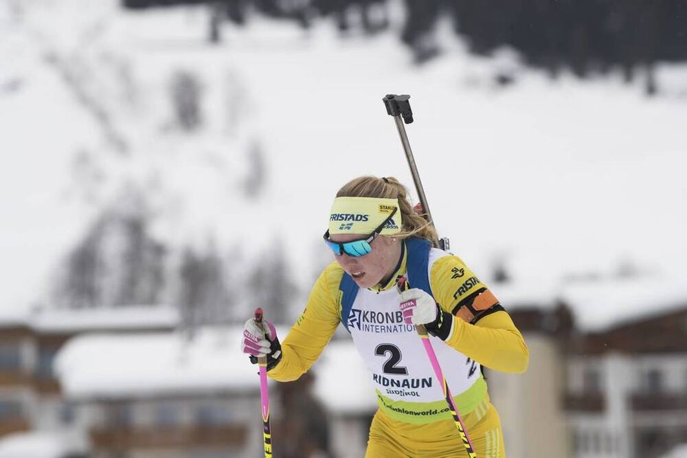 26.01.2018, Ridnaun, Italy (ITA):Felicia Lindqvist (SWE) - IBU Open European championships biathlon, sprint women, Ridnaun (ITA). www.nordicfocus.com. © Manzoni/NordicFocus. Every downloaded picture is fee-liable.