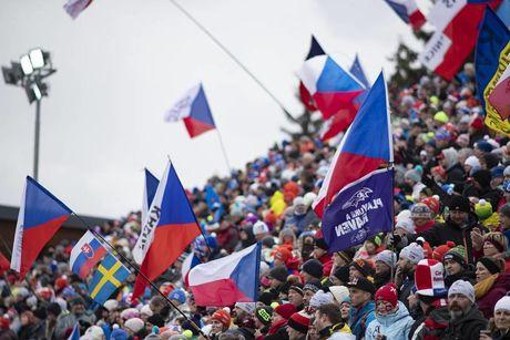 23.12.2018, Nove Mesto, Czech Republic (CZE):Event Feature: Czech fans - IBU world cup biathlon, mass men, Nove Mesto (CZE). www.nordicfocus.com. © Manzoni/NordicFocus. Every downloaded picture is fee-liable.