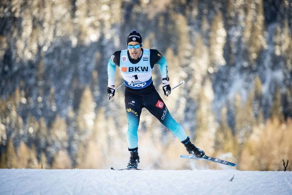 15.12.2018, Davos, Switzerland (SUI):Richard Jouve (FRA) - FIS world cup cross-country, individual sprint, Davos (SUI). www.nordicfocus.com. © Modica/NordicFocus. Every downloaded picture is fee-liable.