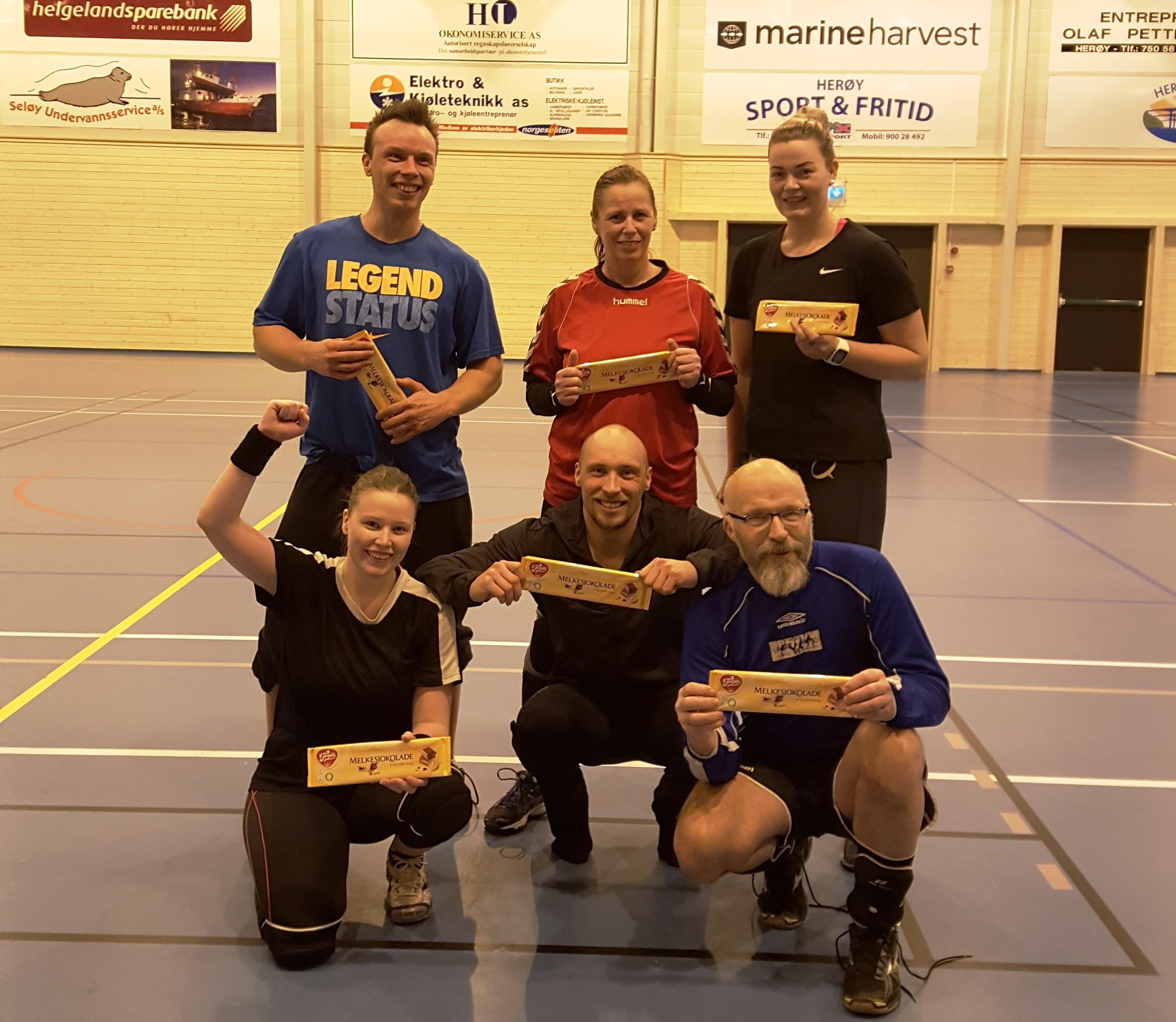 Julecupen i volleyball 2018