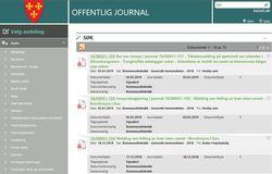 Postlister publisert som offentlig journal