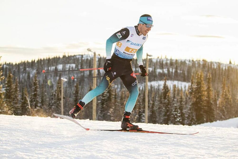 09.12.2018, Beitostolen, Norway (NOR):Robin Duvillard (FRA) - FIS world cup cross-country, 4x7.5km men, Beitostolen (NOR). www.nordicfocus.com. © Modica/NordicFocus. Every downloaded picture is fee-liable.