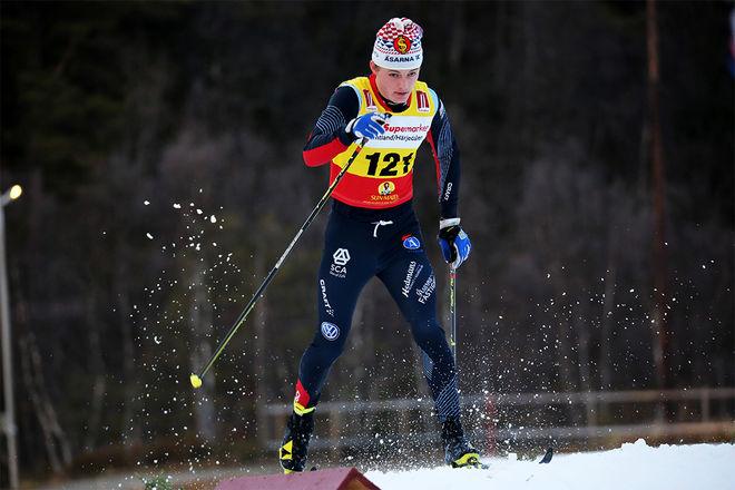 OSSIAN ROSENBERG fixade en hemmaseger till Åsarna IK i Scandic Cup-sprinten under söndagen. Foto/rights: KJELL-ERIK KRISTIANSEN/KEK-stock