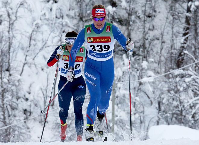 EVELINA SUTRO, IFK Mora är nu i USA och blev stark 5:a i US Nationals över 20 km masstart i helgen. Foto/rights: KJELL-ERIK KRISTIANSEN/kekstock.com