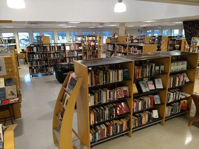 Bibliotekets lokaler
