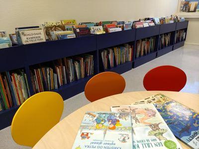 Bibliotekets lokaler (2).
