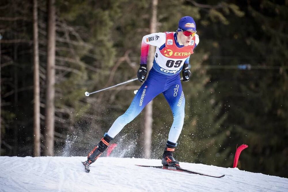 29.12.2018, Toblach, Italy (ITA):Beda Klee (SUI) - FIS world cup cross-country, tour de ski, individual sprint, Toblach (ITA). www.nordicfocus.com. © Modica/NordicFocus. Every downloaded picture is fee-liable.