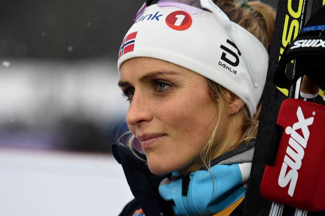 THERESE JOHAUG satsar allt på VM och står över flera världscuptävlingar. Innan VM åker hon endast Otepää, Ulricehamn och norska mästerskapen. Foto/rights: ROLF ZETTERBERG/kekstock.com