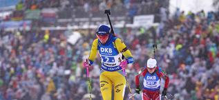 13.01.2019, Oberhof, Germany (GER):Hanna Oeberg (SWE) -  IBU world cup biathlon, relay women, Oberhof (GER). www.nordicfocus.com. © Manzoni/NordicFocus. Every downloaded picture is fee-liable.