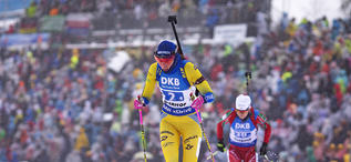 13.01.2019, Oberhof, Germany (GER):Hanna Oeberg (SWE) -  IBU world cup biathlon, relay women, Oberhof (GER). www.nordicfocus.com. © Manzoni/NordicFocus. Every downloaded picture is fee-liable.