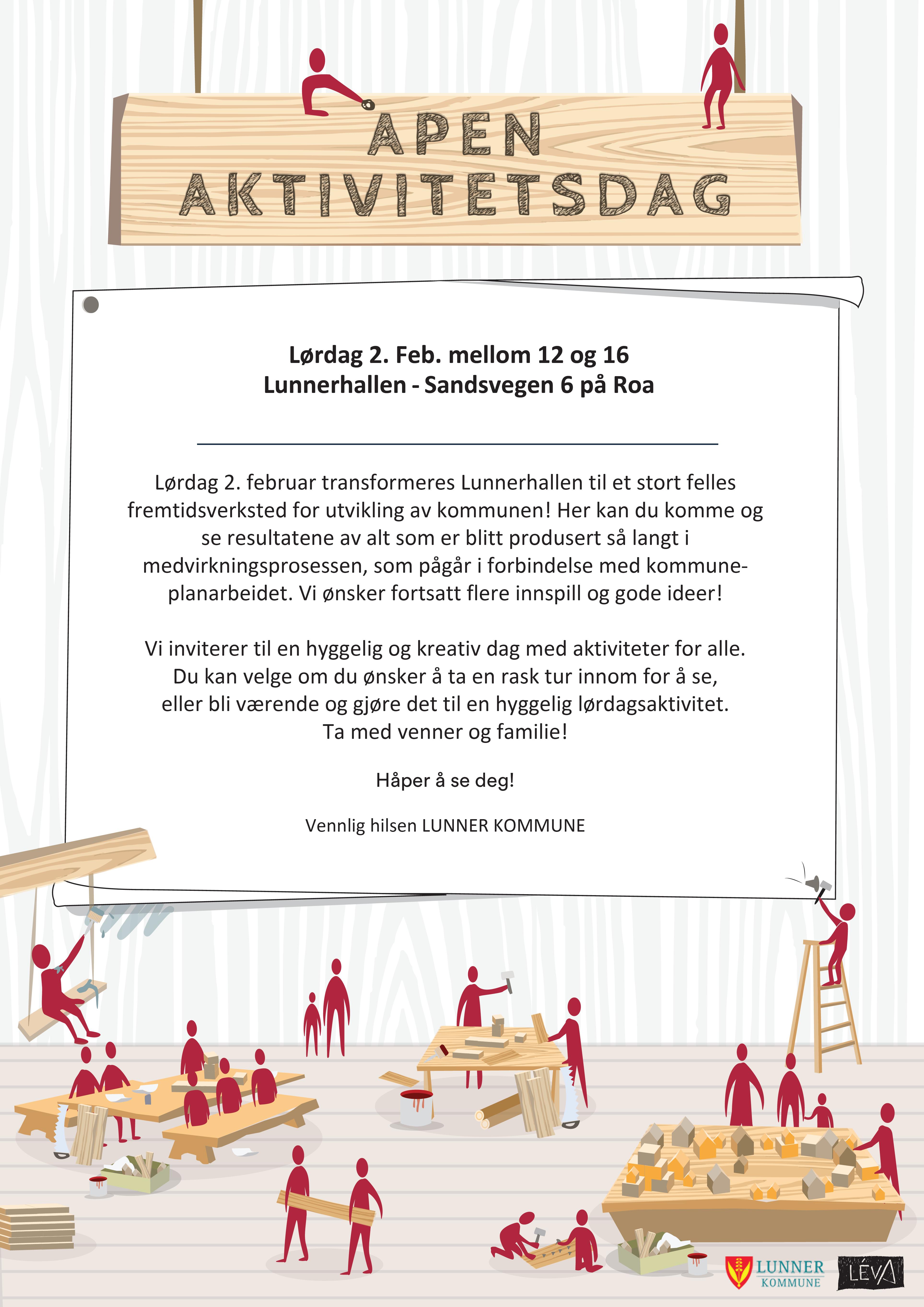 Invitasjon til åpen aktivitetsdag