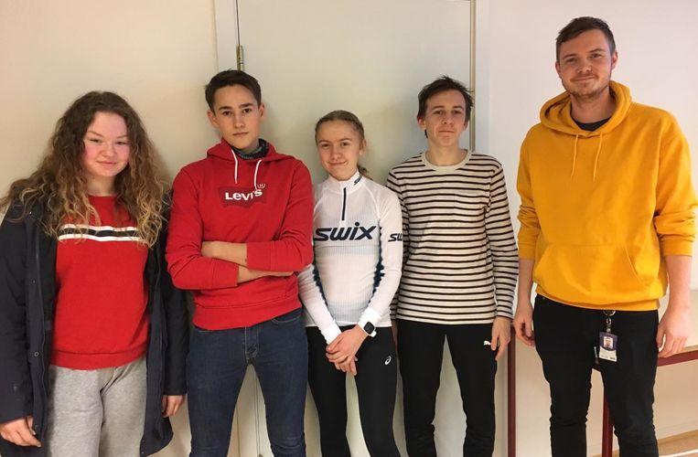 Klassequiz Herøy skole
