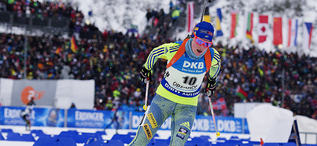 07.01.2017, Oberhof, Germany (GER):Chardine Sloof (SWE) -  IBU world cup biathlon, pursuit women, Oberhof (GER). www.nordicfocus.com. © Manzoni/NordicFocus. Every downloaded picture is fee-liable.