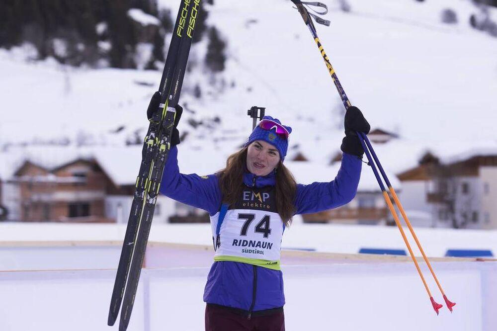 24.01.2018, Ridnaun, Italy (ITA):Victoria Slivko (RUS) - IBU Open European championships biathlon, individual women, Ridnaun (ITA). www.nordicfocus.com. © Manzoni/NordicFocus. Every downloaded picture is fee-liable.