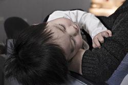 Influensa hos barn_Illustrajsonsfoto