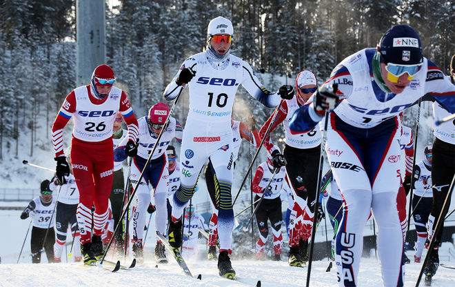 WILLIAM POROMAA blev 9:a på tremilen i JVM i Oberwiesenthal, precis samma placering som förra året i Lahtis. Foto/rights: KJELL-ERIK KRISTIANSEN/kekstock.com