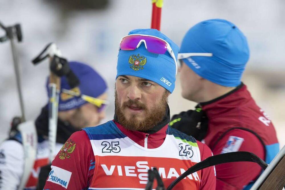 19.12.2018, Nove Mesto, Czech Republic (CZE):Anton Babikov (RUS) - IBU world cup biathlon, training, Nove Mesto (CZE). www.nordicfocus.com. © Manzoni/NordicFocus. Every downloaded picture is fee-liable.