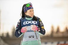 25.01.2019, Ulricehamn, Sweden (SWE):Krista Parmakoski (FIN) - FIS world cup cross-country, training, Ulricehamn (SWE). www.nordicfocus.com. © Modica/NordicFocus. Every downloaded picture is fee-liable.