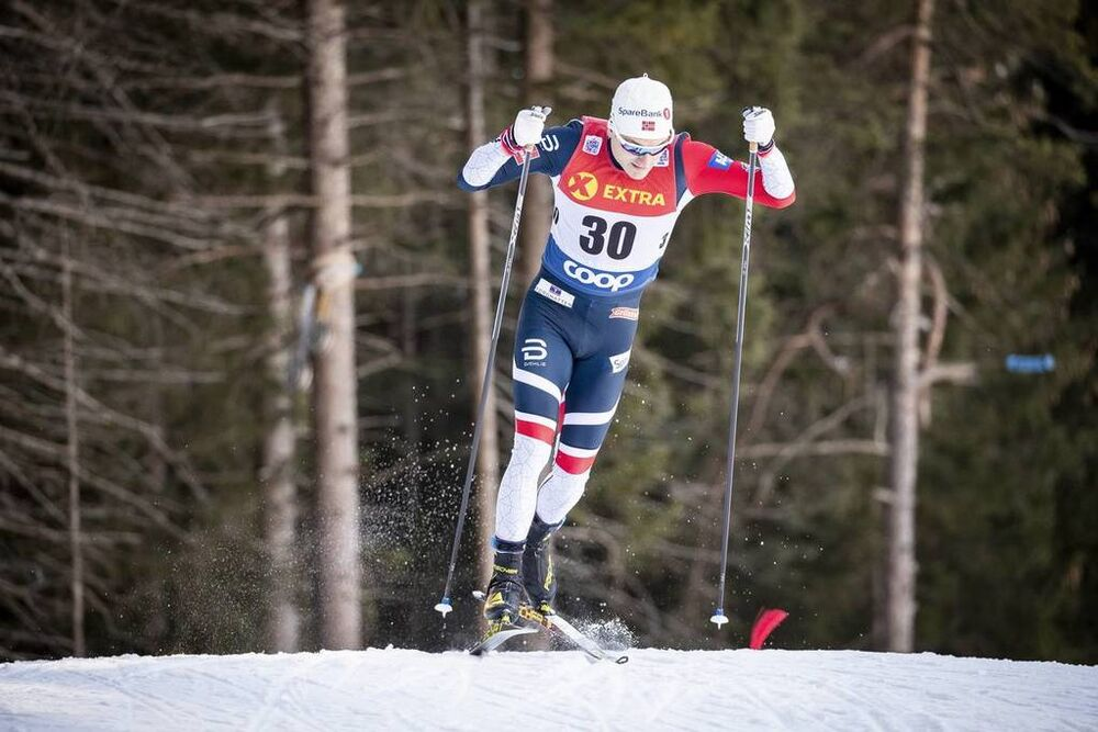 29.12.2018, Toblach, Italy (ITA):Finn Haagen Krogh (NOR) - FIS world cup cross-country, tour de ski, individual sprint, Toblach (ITA). www.nordicfocus.com. © Modica/NordicFocus. Every downloaded picture is fee-liable.