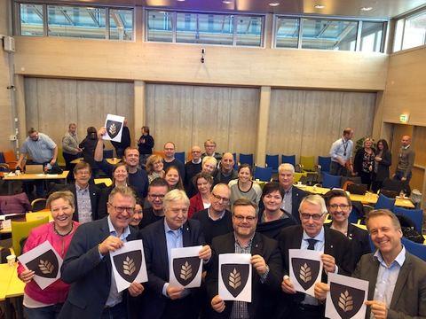Kommunevåpen enstemming vedtatt i Fellenemnda 05.02.19
