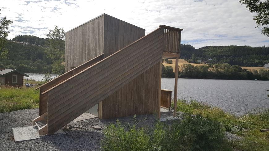 Fugletårnet i Røykenvik.