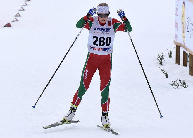 LISA ERIKSSON, Strömnäs GIF såg till att Norrbotten vann också den andra 16-årsklassen på USM i Falköping. Foto/rights: ROLF ZETTERBERG/kekstock.com